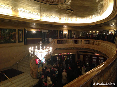 View from the top -The Ed Mirvish Theatre