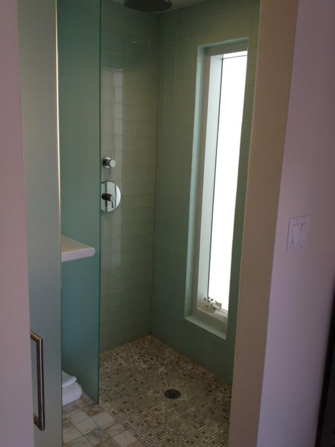 Cabana private shower