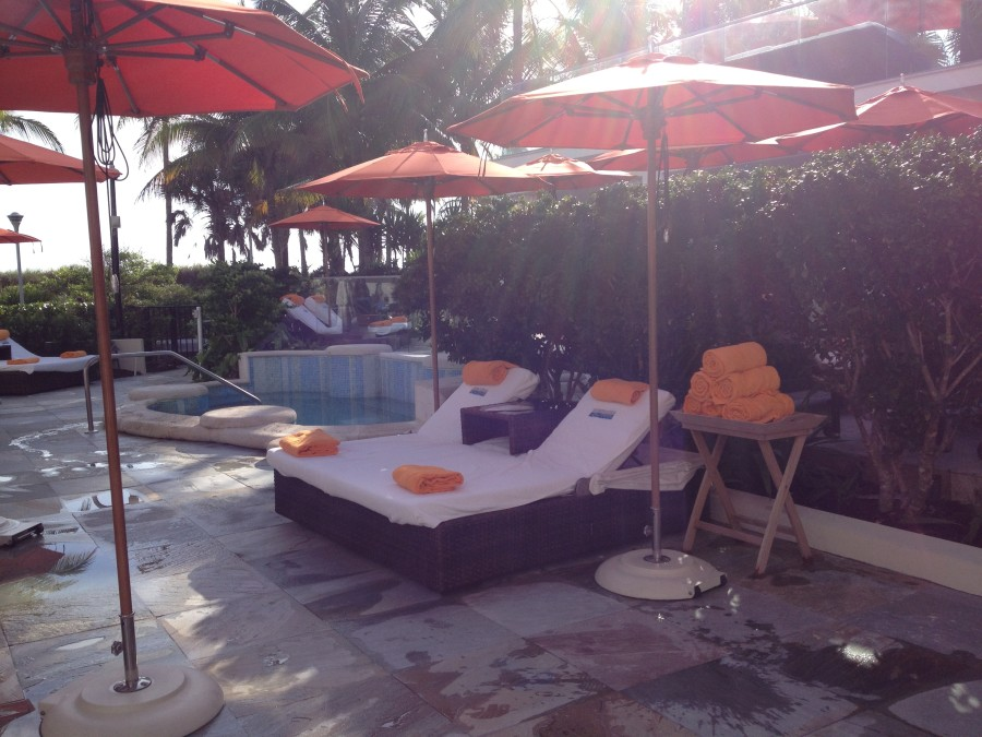 Private relaxation area at SOAK