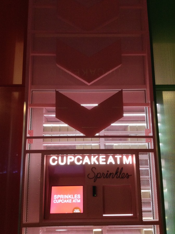 The Sprinkles Cupcake ATM