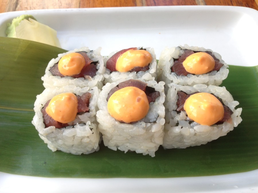 Spicy Tuna Sushi, Sushi Samba Miami Beach