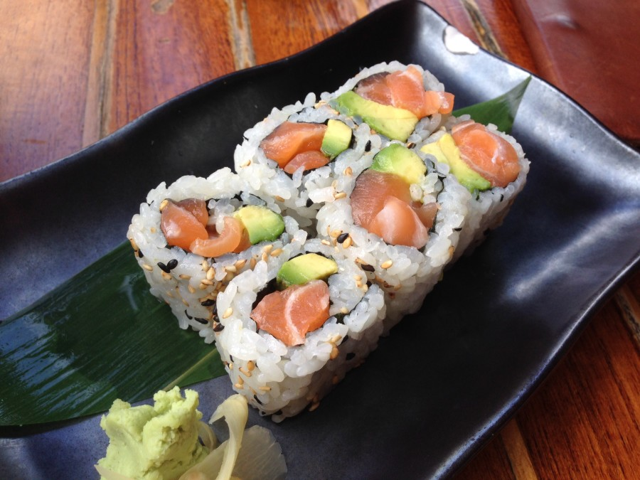 Salmon Avocado Sushi, Sushi Samba Miami Beach
