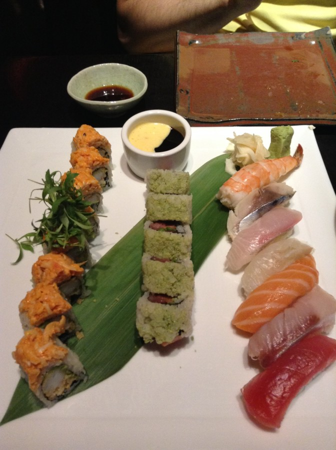 Our assorted Sushi, Sushi Samba Las Vegas
