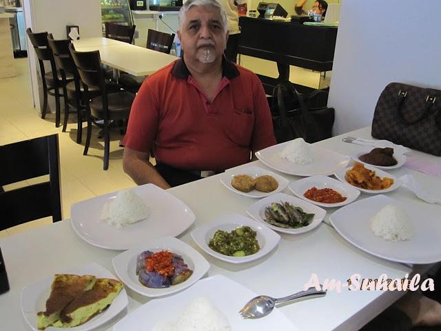 The Birthday Boy & his birthday lunch