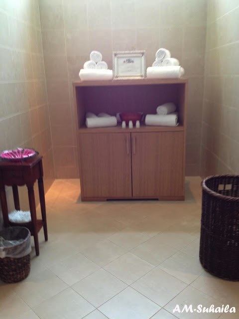 Beautiful Amenities at the Ritz Carlton Spa