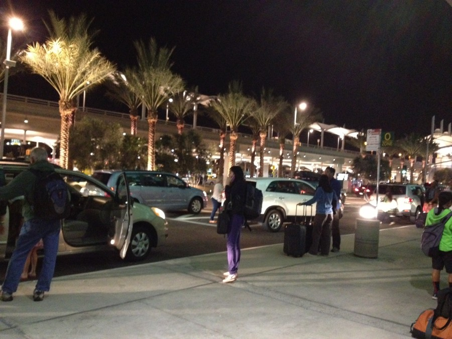 Outside San Diego Airport