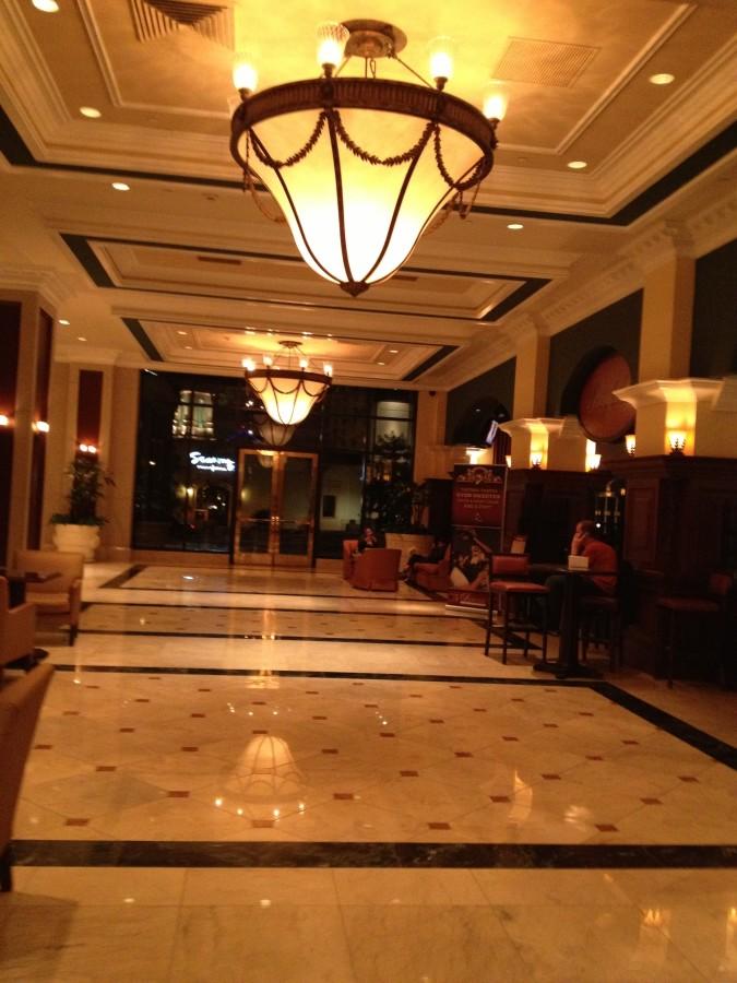 Lobby area at the Grand Hyatt San Diego