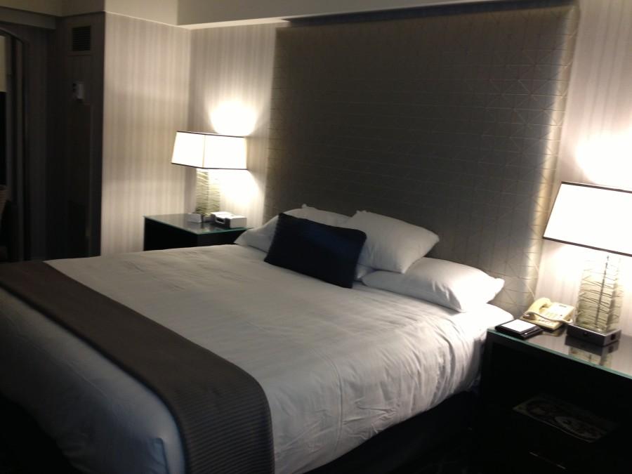 Room at the grand Hyatt San Diego