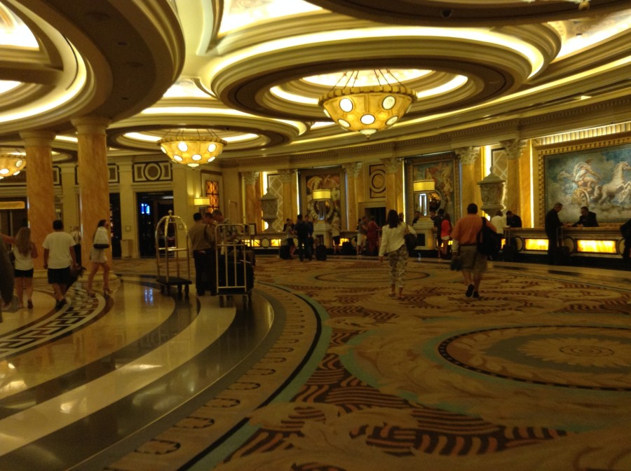 Lobby at the Caesars Palace
