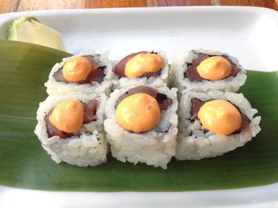 Spicy Tuna Sushi, Sushi Samba Miami Beach
