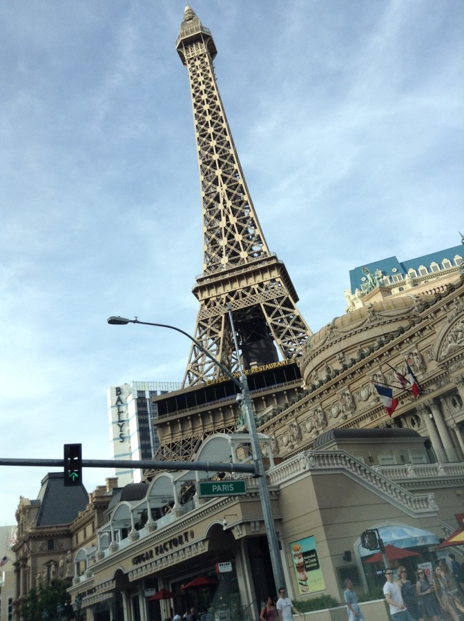 Eiffel in Vegas!