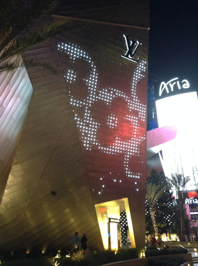 Louis Vuitton flagship store, The Aria
