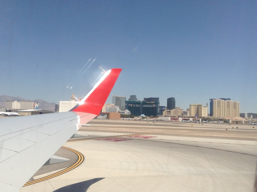 Landing in vegas