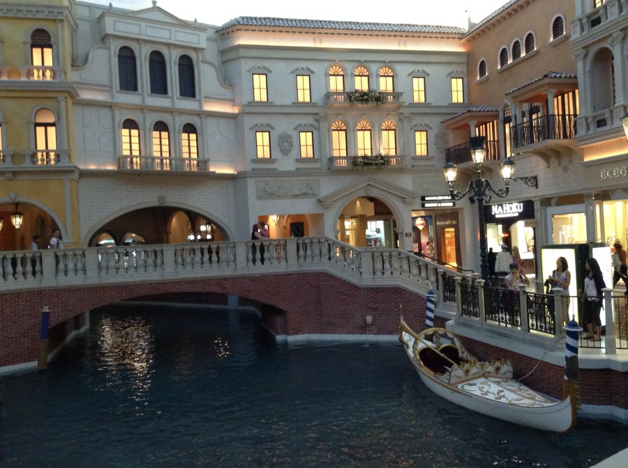 Inside the Grand Canal Shoppes