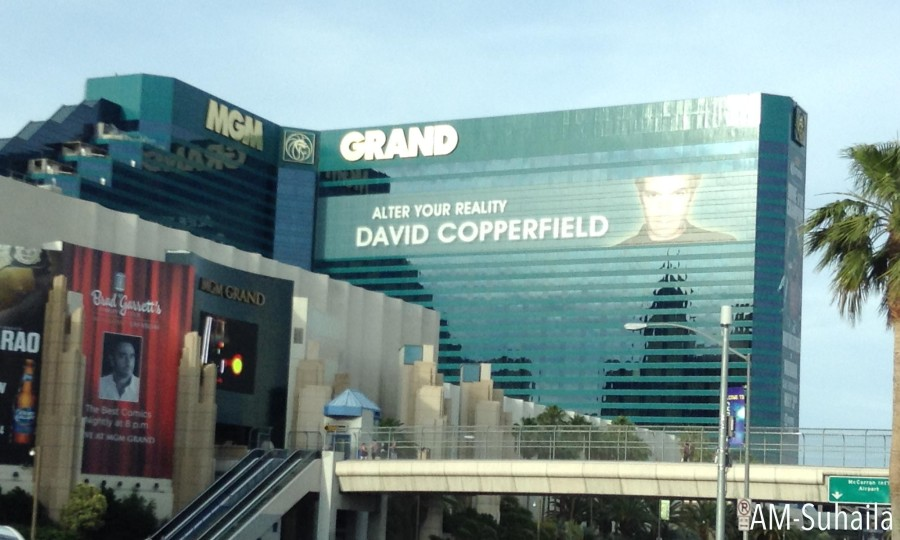 David Copperfield at the MGM Grand