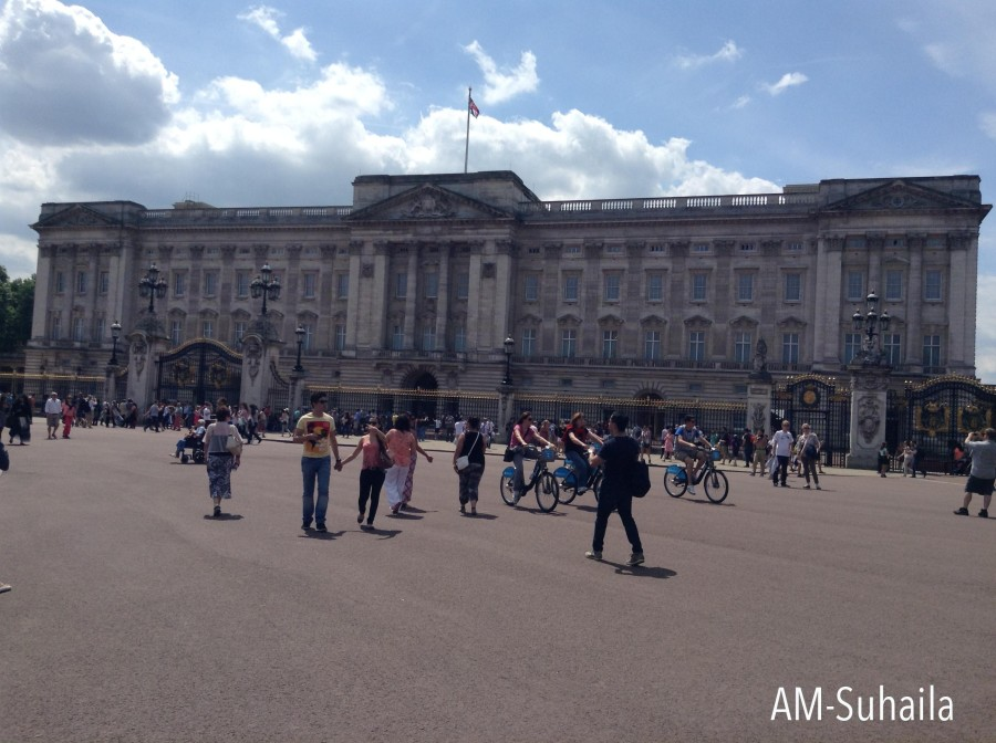 Buckingham Palace from another angle