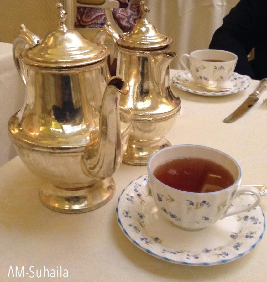 My beautiful Rose Congou tea
