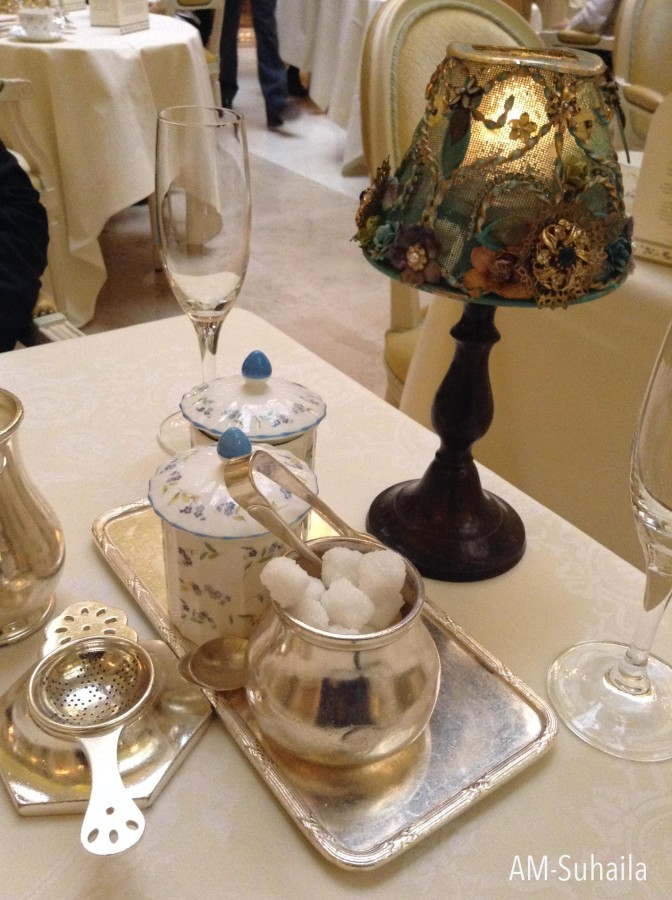 Lovely table settings with Chinaware and Silverware