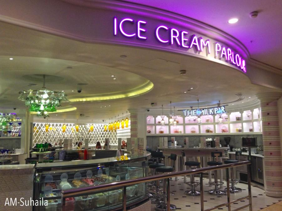 Ice Cream Parlour at Harrods