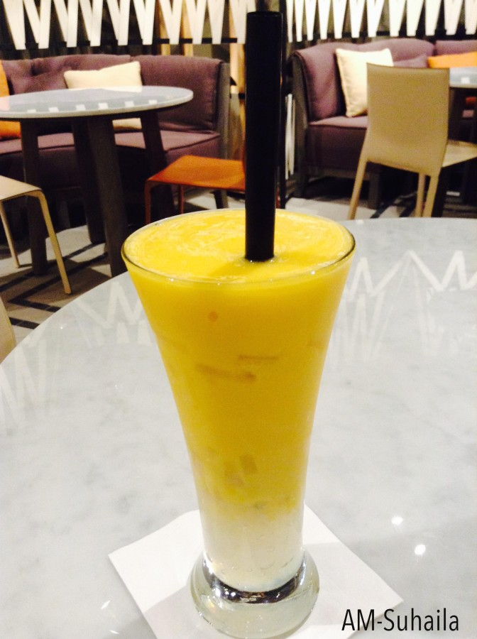 Jule's Mango Ice Blended