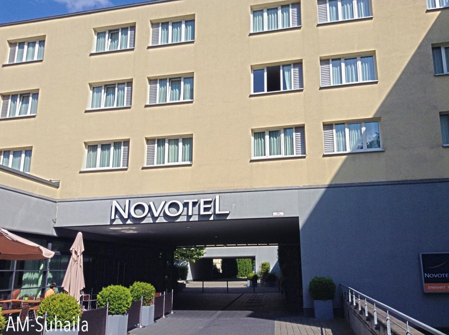 The peaceful atmosphere of Novotel Munchen City