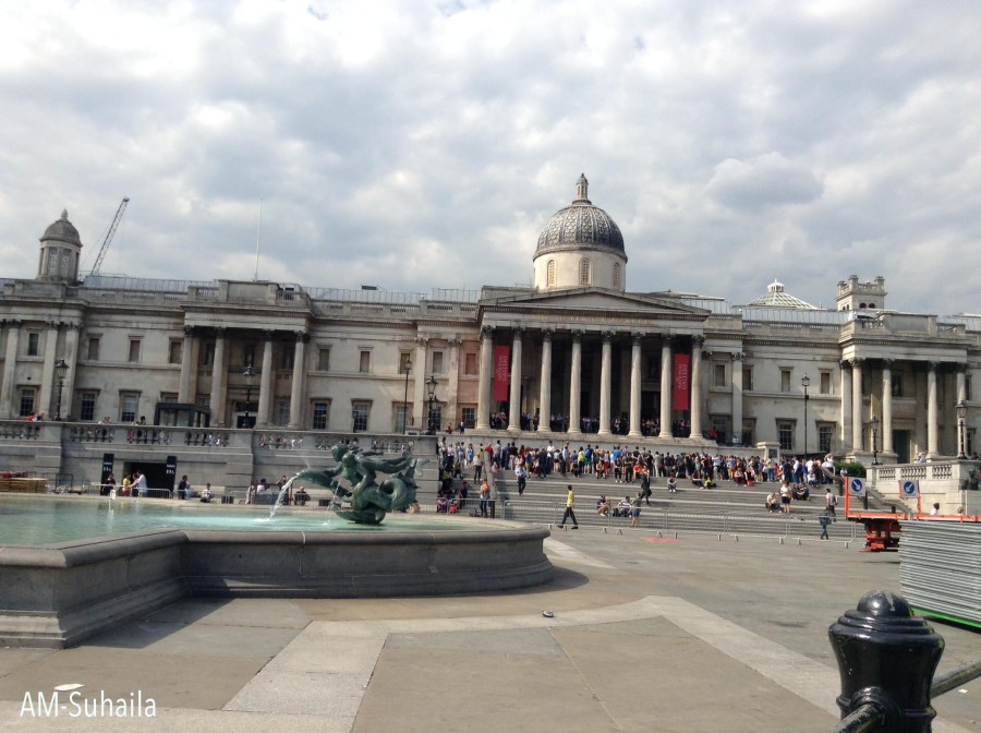 Trafalgar Square from another angle