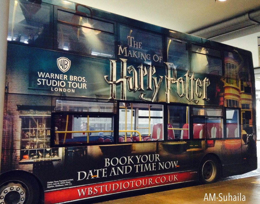 The Harry Potter bus