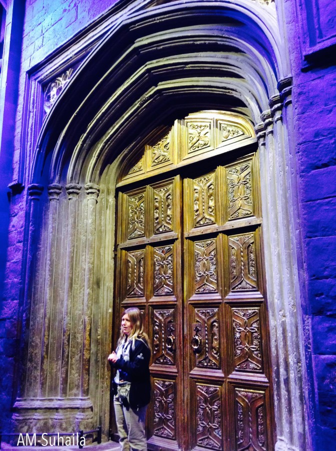 The famous doors to Hogwarts!
