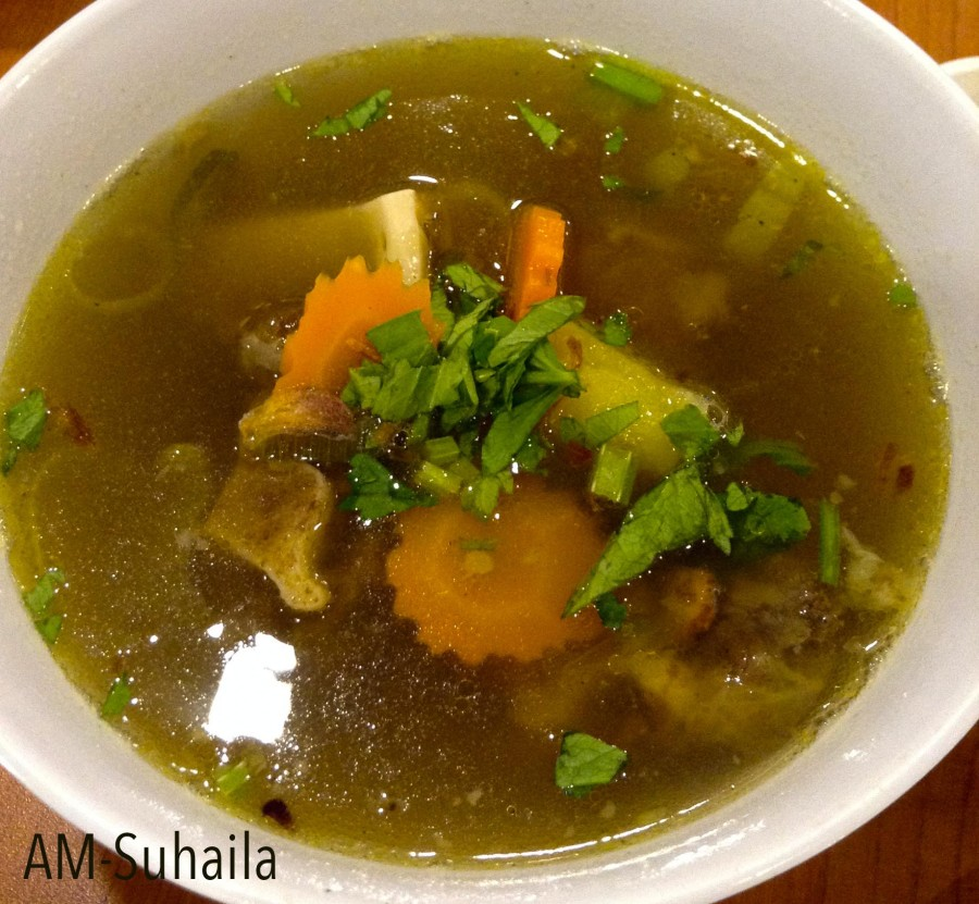 Sup Buntut (Oxtail Soup)