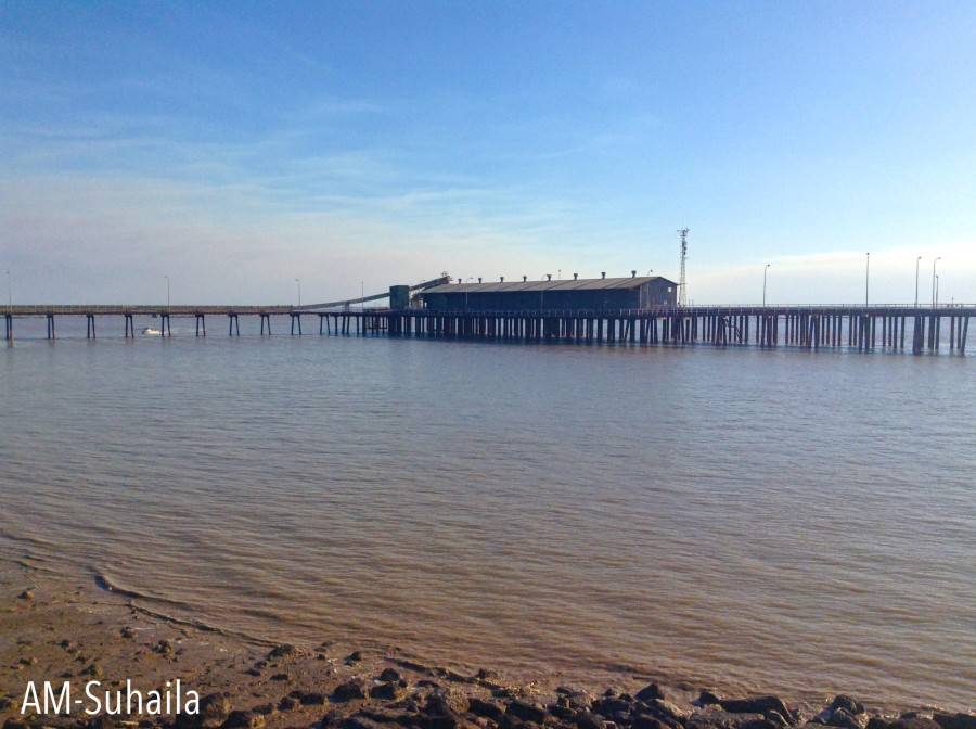 The Derby jetty