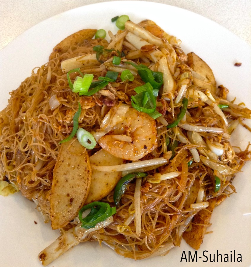 BeeHoon Goreng (Fried Vermicelli Noodle)