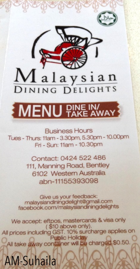 About Malaysian Dining Delights Perth