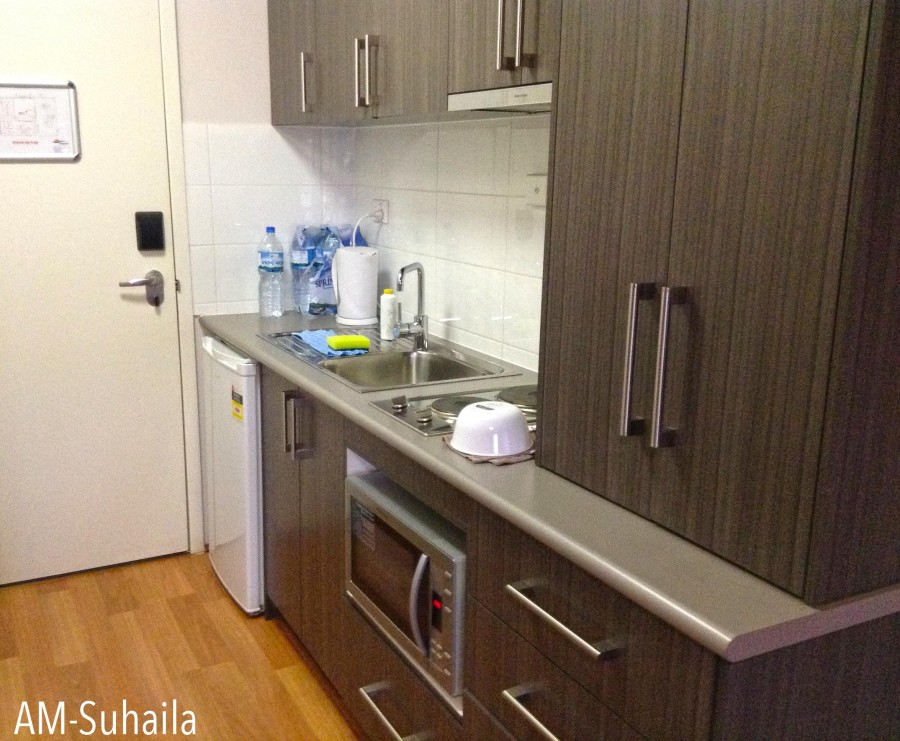 Mini but full kitchenette in the room
