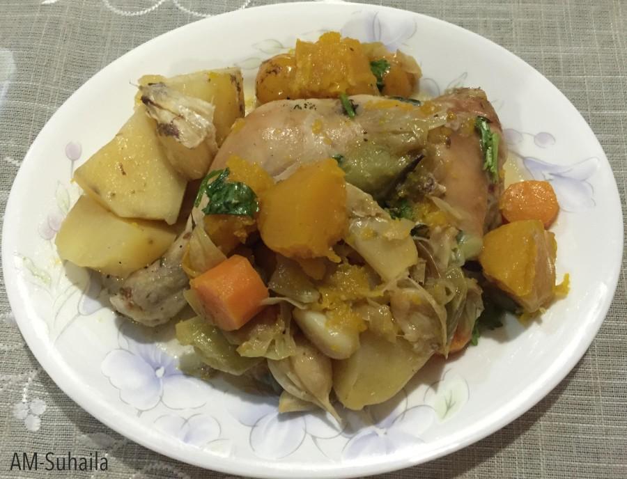Bea's Chicken Roast