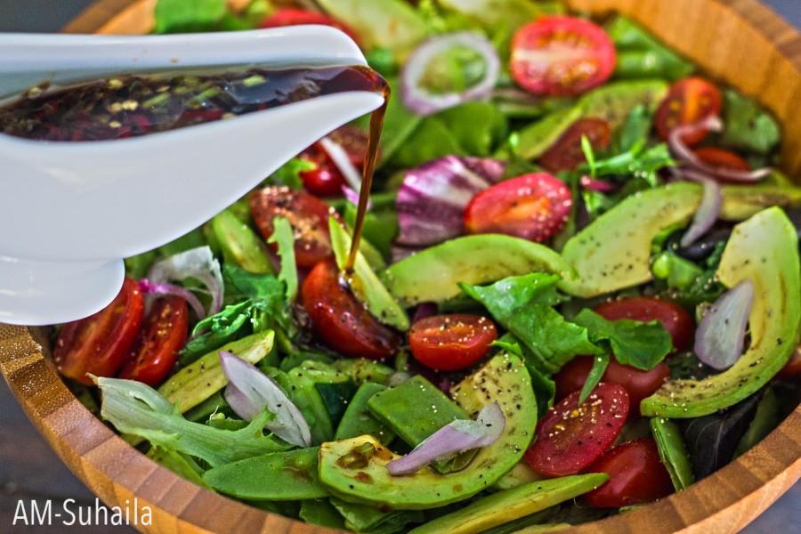 Bea's Avocado Snow Pea Salad