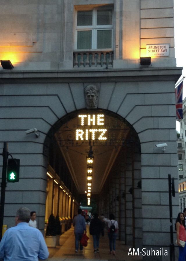 Afternoon Tea, The Ritz London