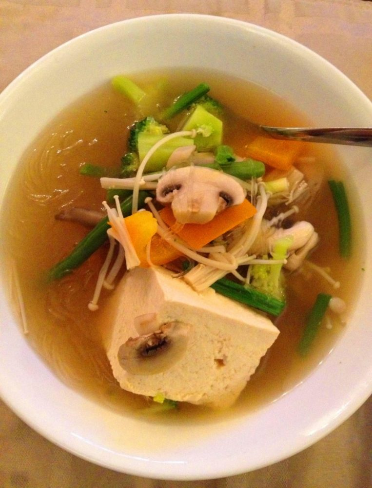 Tanghoon (Glass Noodles) Miso Soup